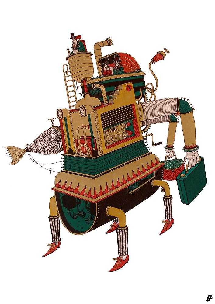 Nonsense machine model 1874 by Gazura