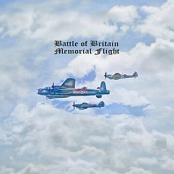 The Battle of Britain Memorial Flight iPad Case by CatherineV