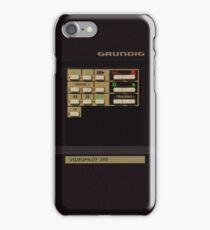 GRUNDIG VIDEOPILOT 386 remote control iPhone Case/Skin