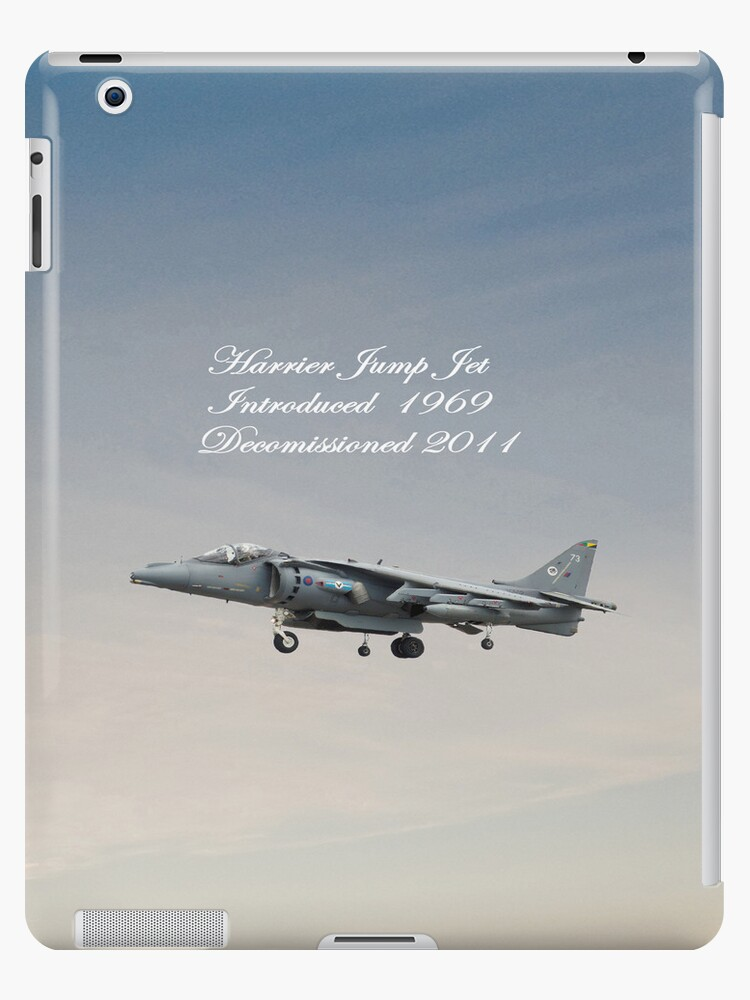 Harrier Jump Jet  iPad Case by Catherine Hamilton-Veal  ©