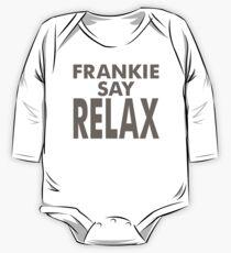 FRANKIE SAY RELAX Langärmeliger Einteiler