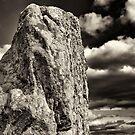 Spirit Megalith, Carnac 2012 by Frank Bibbins