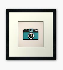 retro camera collection Framed Print
