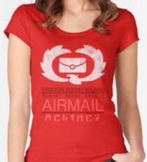 Zelda Wind Waker - Dragon Roost Island Airmail Women's Fitted Scoop T-Shirt