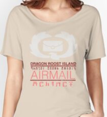 Zelda Wind Waker - Dragon Roost Island Airmail Women's Relaxed Fit T-Shirt