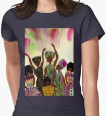 Tapestry Womens Fitted T-Shirt