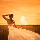 bride on sunset by naphotos