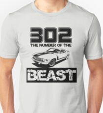 302 - The Number of the Beast Unisex T-Shirt