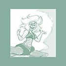 Malachite Steven Universe Sketch by ahnascribbles