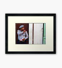 The Cuban Cop Framed Print