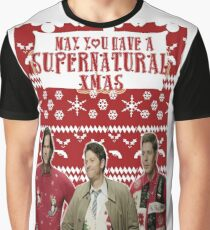 Supernatural Christmas Graphic T-Shirt
