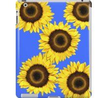 Ipad case - Sunflowers Mid Blue iPad Case/Skin