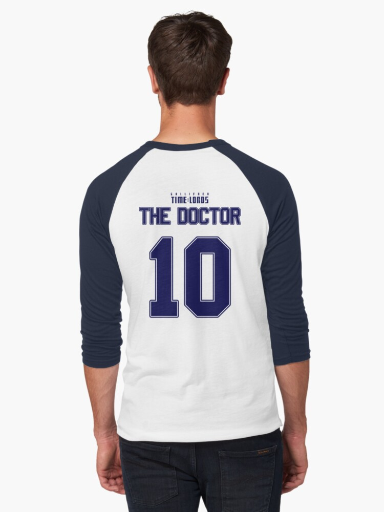 Team Tennant (The Doctor Team Jersey #10) BLUE by trekvix