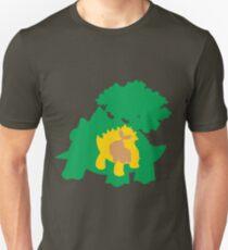 PKMN Silhouette - Turtwig Family Unisex T-Shirt