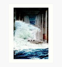 Flood Art Print