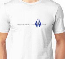 Kimi Raikkonen - I Know What I'm Doing! - Finnish Colours Unisex T-Shirt