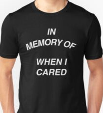 In Memory of Unisex T-Shirt