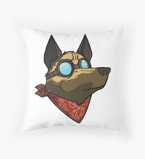Dogmeat Throw Pillow