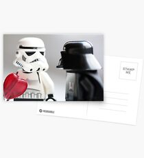 Tell someone you love them Postcards
