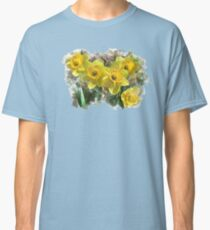 Daffodil Watercolor Classic T-Shirt
