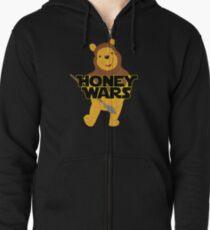 Honey Wars Zipped Hoodie