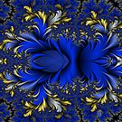 Peacock Ore - Royal Silver Blues by Susan Sowers