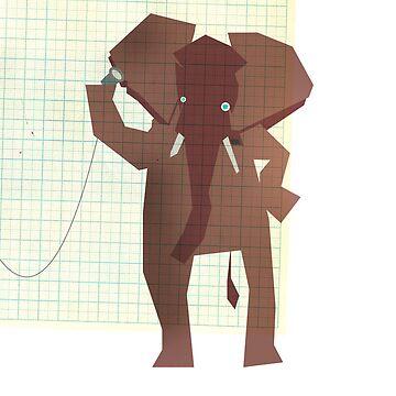 Elephant by slagroom