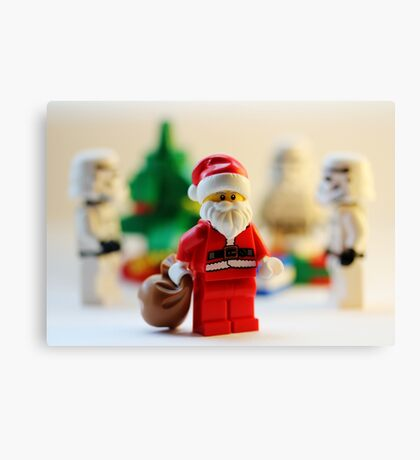Have yourself a stormie little Christmas Canvas Print