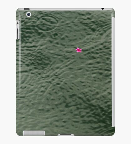 Ripples & Flower iPad Case/Skin