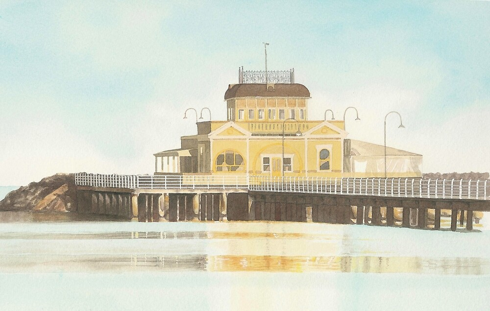 St. Kilda Pier cafe by IanB