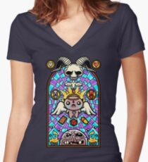 The Binding Women's Fitted V-Neck T-Shirt