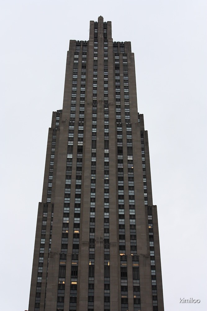 empire state building by kimiloo