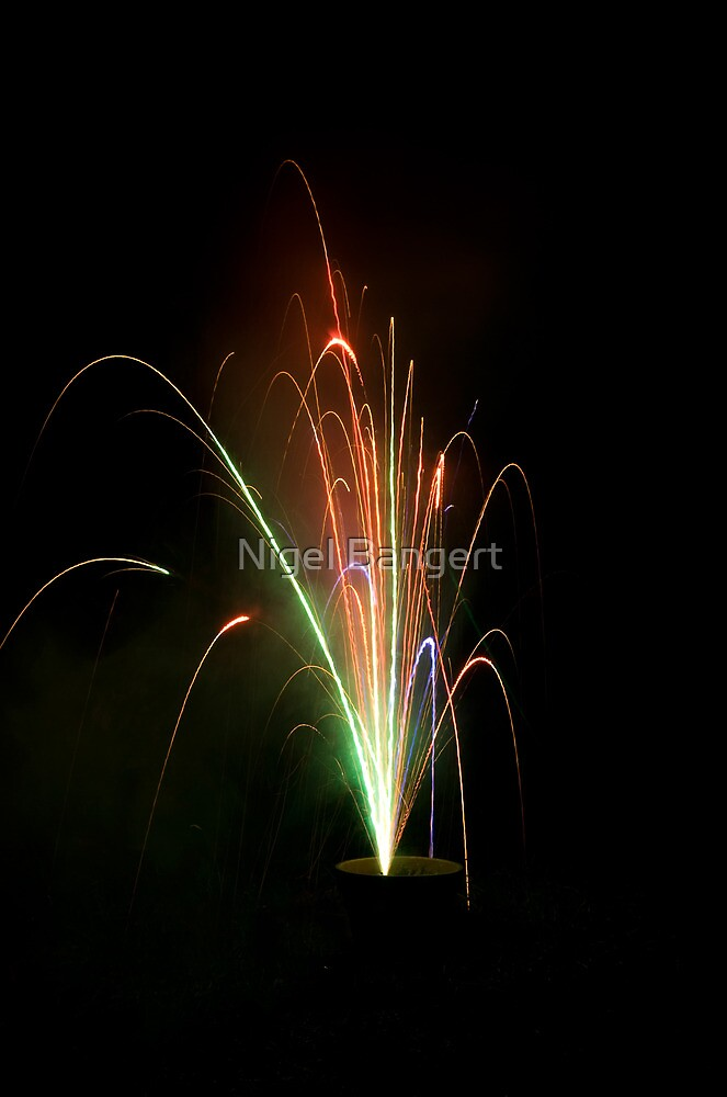 Firework by Nigel Bangert