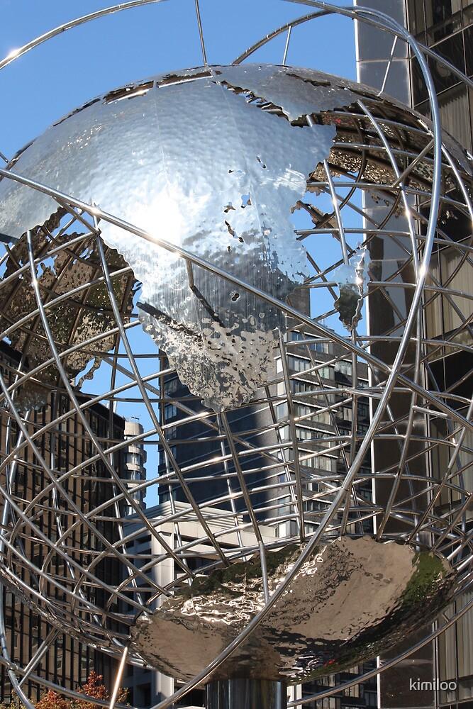 trump globe by kimiloo