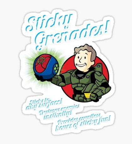 Sticky Grenades! Sticker