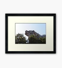 Grizzly Peak Framed Print