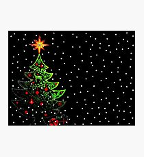 O Weihnachtsbaum Fotodruck