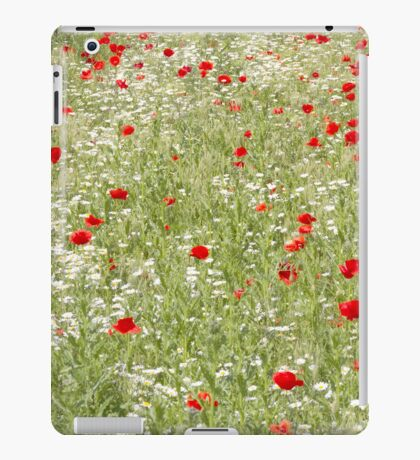Poppy Field iPad Case/Skin