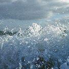 Splash Ipad case by Magdalena Warmuz-Dent