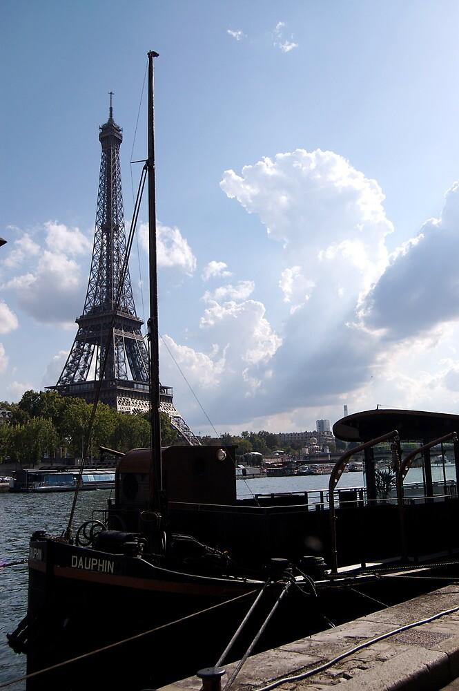 Parisian Harbor by Marianna Carrera