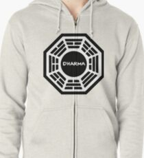 Dharma Initiative Zipped Hoodie