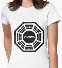 Dharma Initiative Women's Fitted T-Shirt