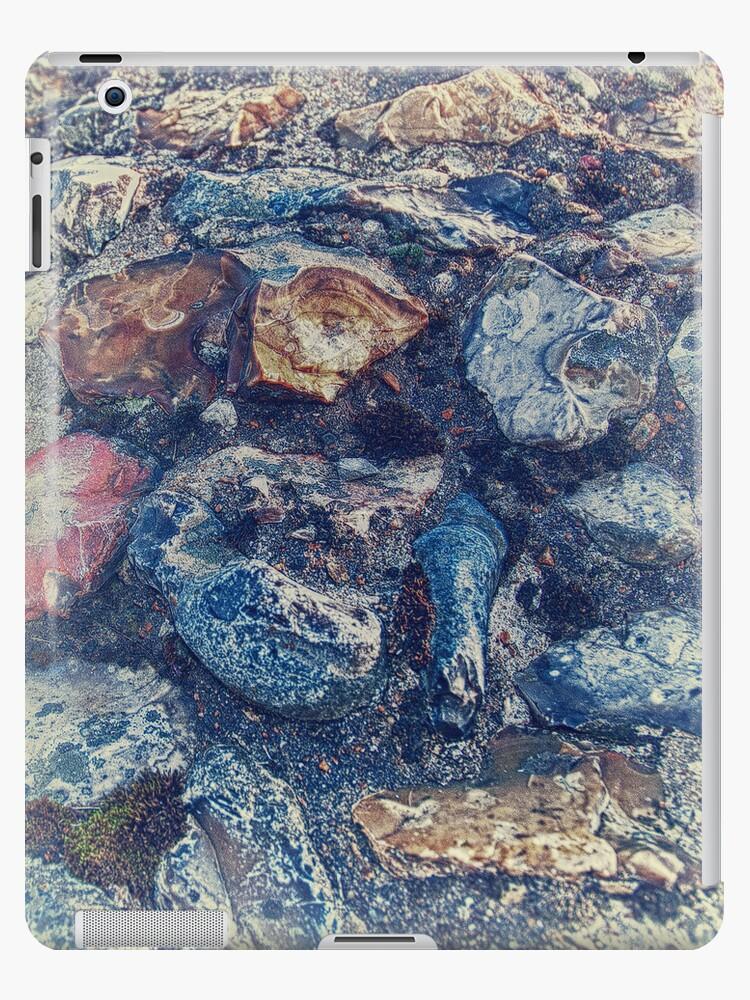Vintage stone Ipad case by Magdalena Warmuz-Dent