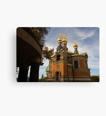 Russian Fairy Tale in Germany Canvas Print