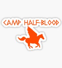 Camp Half-Blood - Orange Logo Sticker