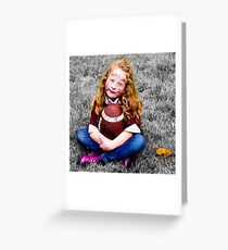 Football Fan Greeting Card