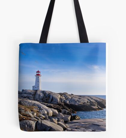Peggy's Cove Lighthouse, Nova Scotia #2 Tote Bag