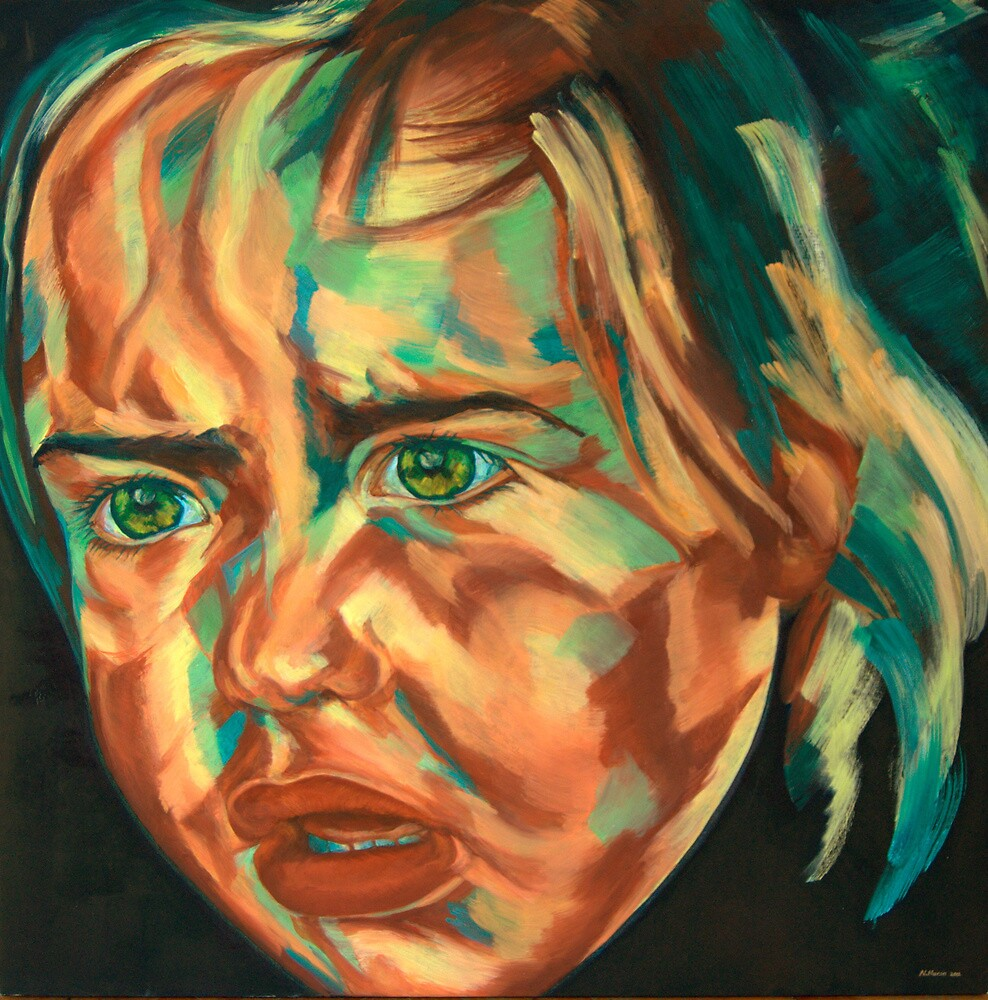 kid portrait 88 by Nurhilal Harsa