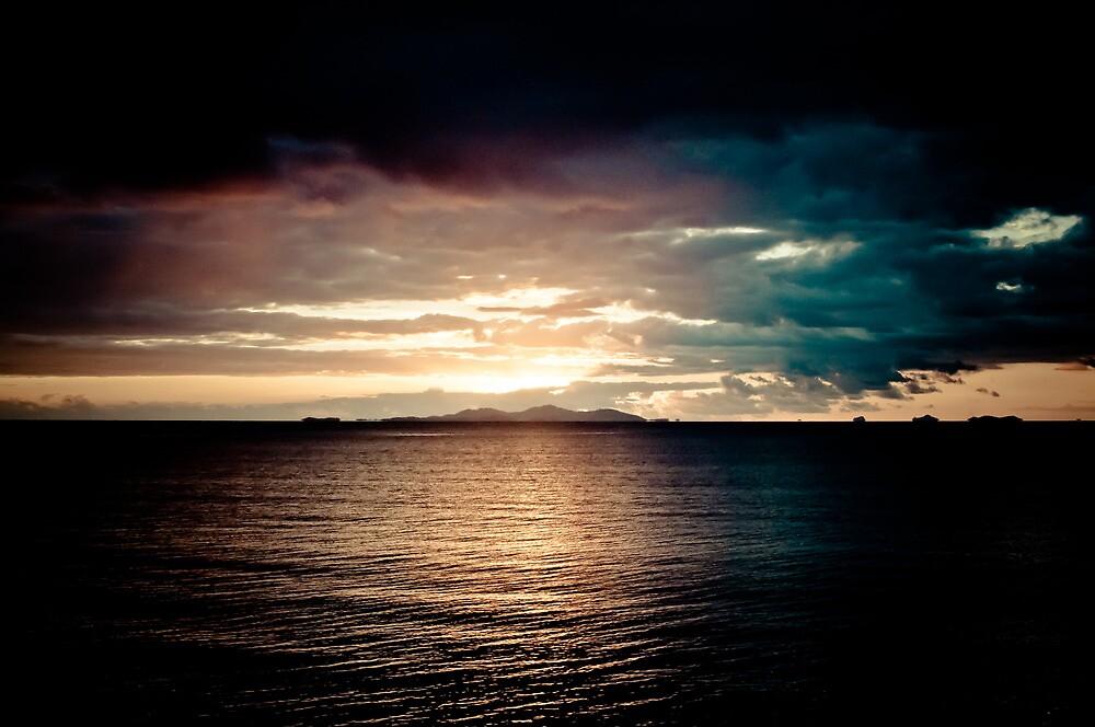 Fiji Sunset by cyasick