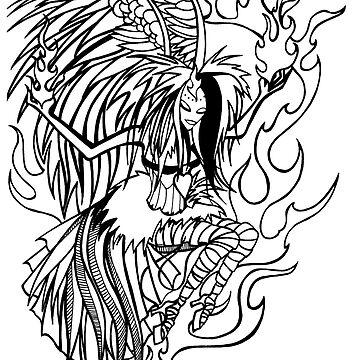 Burning Angel by traubk